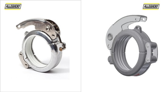 Groove to Groove Dry Bulk Couplings