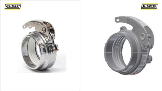 Groove to Plain Dry Bulk Couplings