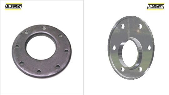 Eccentric Reducing Flanges